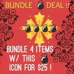 Other - 💣Bundle deal 4 for $25💣